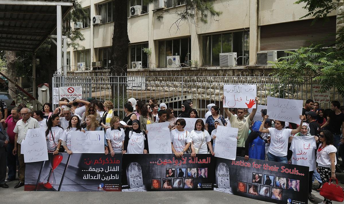 اعتصام امام قصر العدل العنف ضد المر